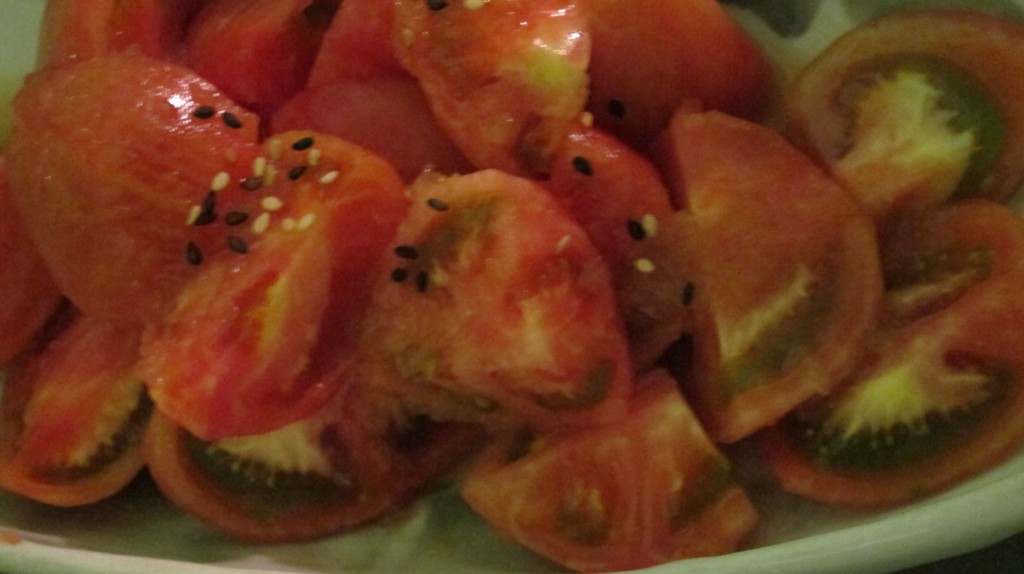 Momotaro tomato salad