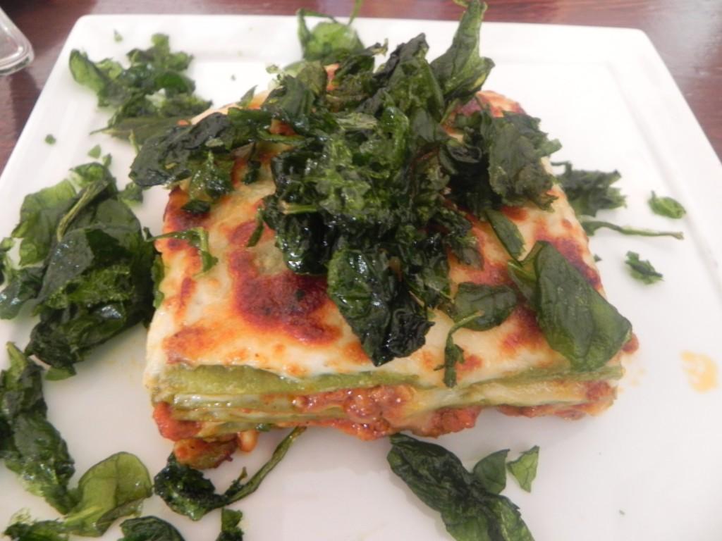 Nona Elvira's Lasagna Verde