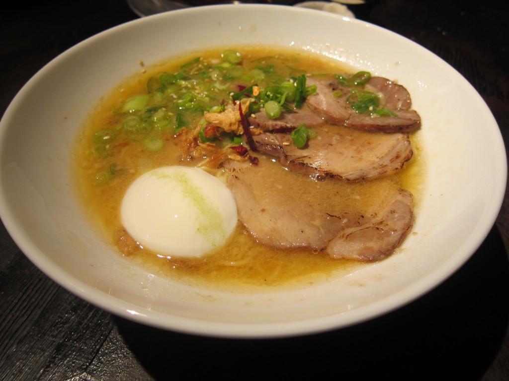 Premium Tonkotsu Ramen with Onsen Tamago