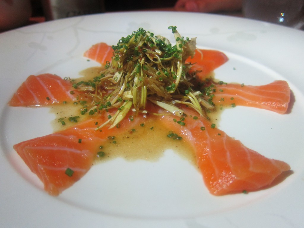 Tasmanian Ocean Trout with Artichoke
