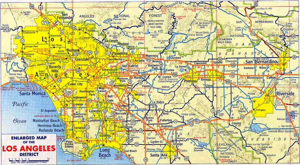 map_of_los_angeles