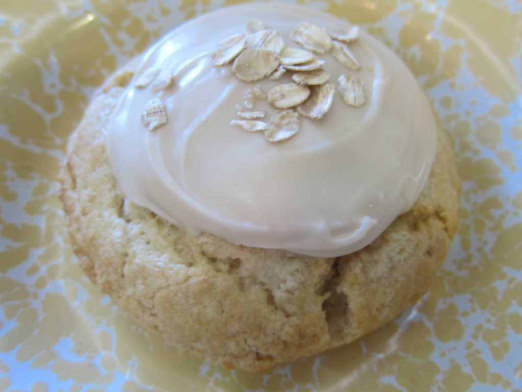 Maple Oatmeal Scone from Sweet Butter Kitchen in Sherman Oaks