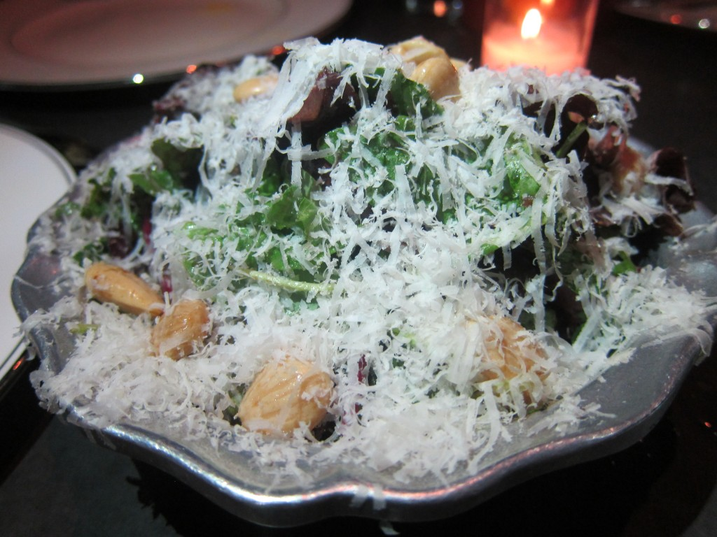 Marinated Figs with Basil, Arugula & Parmesan