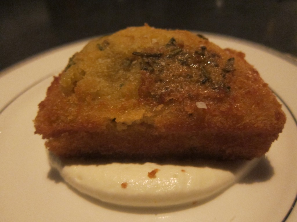 Olive Oil and Rosemary Cake
