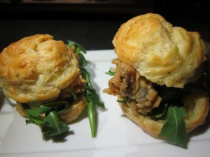 Gougere Sliders