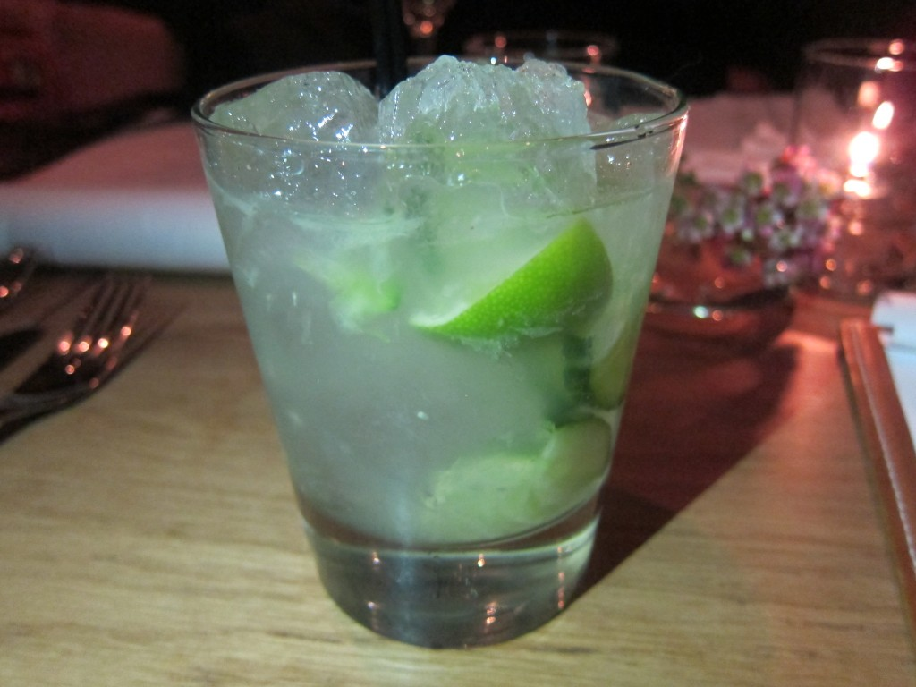 Gordon's Cup with Gin, Muddle Lime, Cucumber, Szechuan Pepper and Salt
