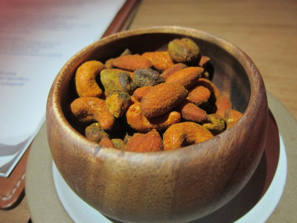 Spice Scented Nuts