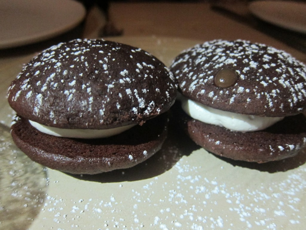 Whoopie Pies with marshmallow fluff