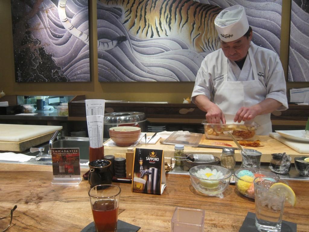 Sushi Master Seiji Nakano
