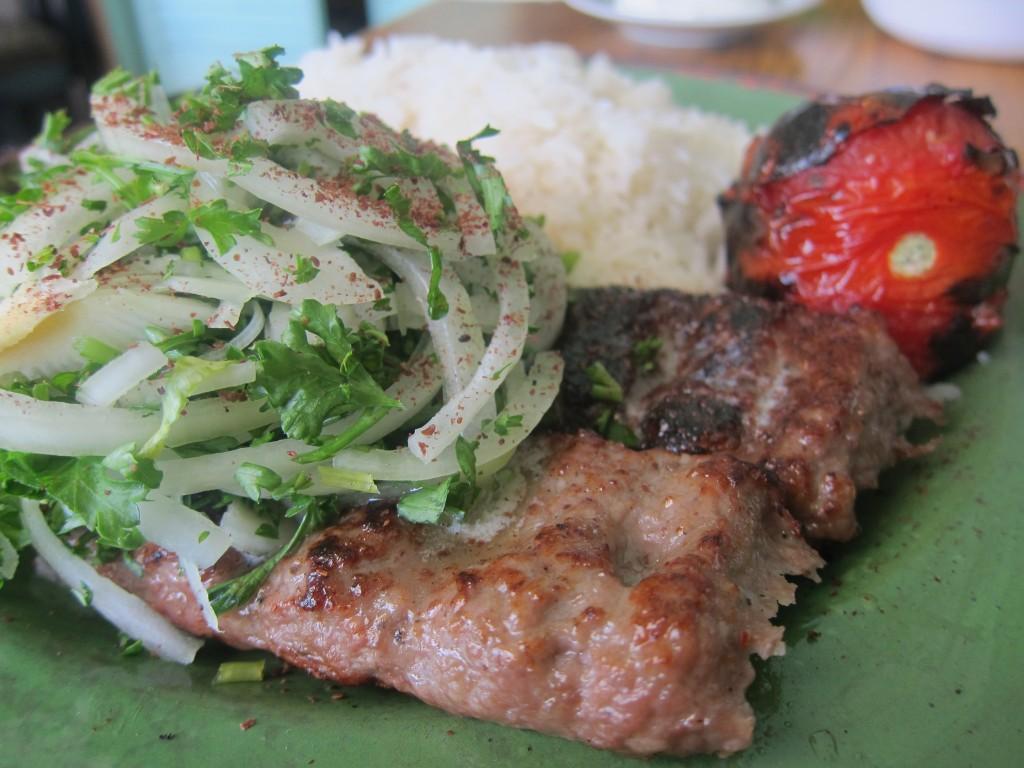 Beef Luleh Kabob