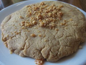 Peanut Brittle Cookie from M Street Kitchen in Santa Monica