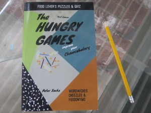 The Hungry Games, a puzzle and quiz book for food lovers