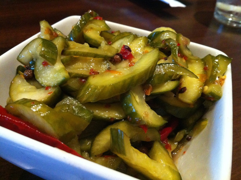 Pickled Szechuan Cucumbers