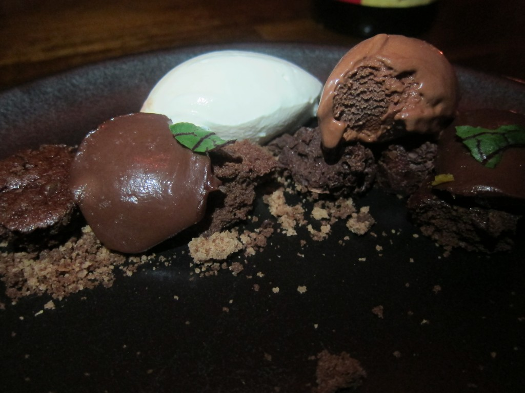 Chocolate, Popcorn and Sorrel