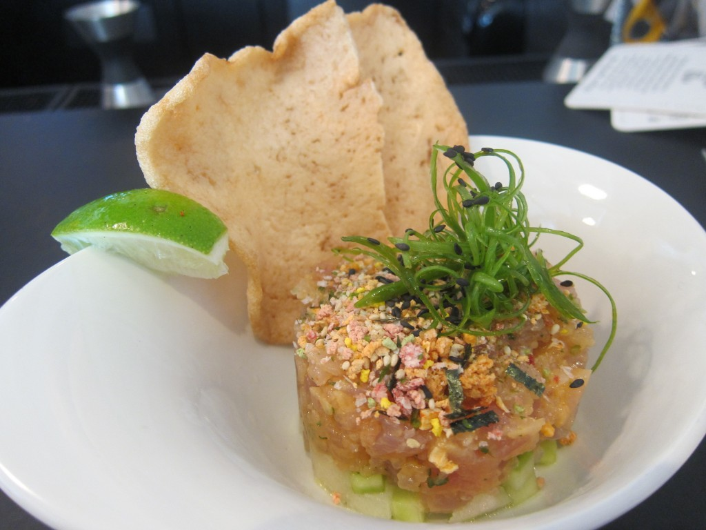 Spicy Albacore Tuna Tartare from Fishing With Dynamite