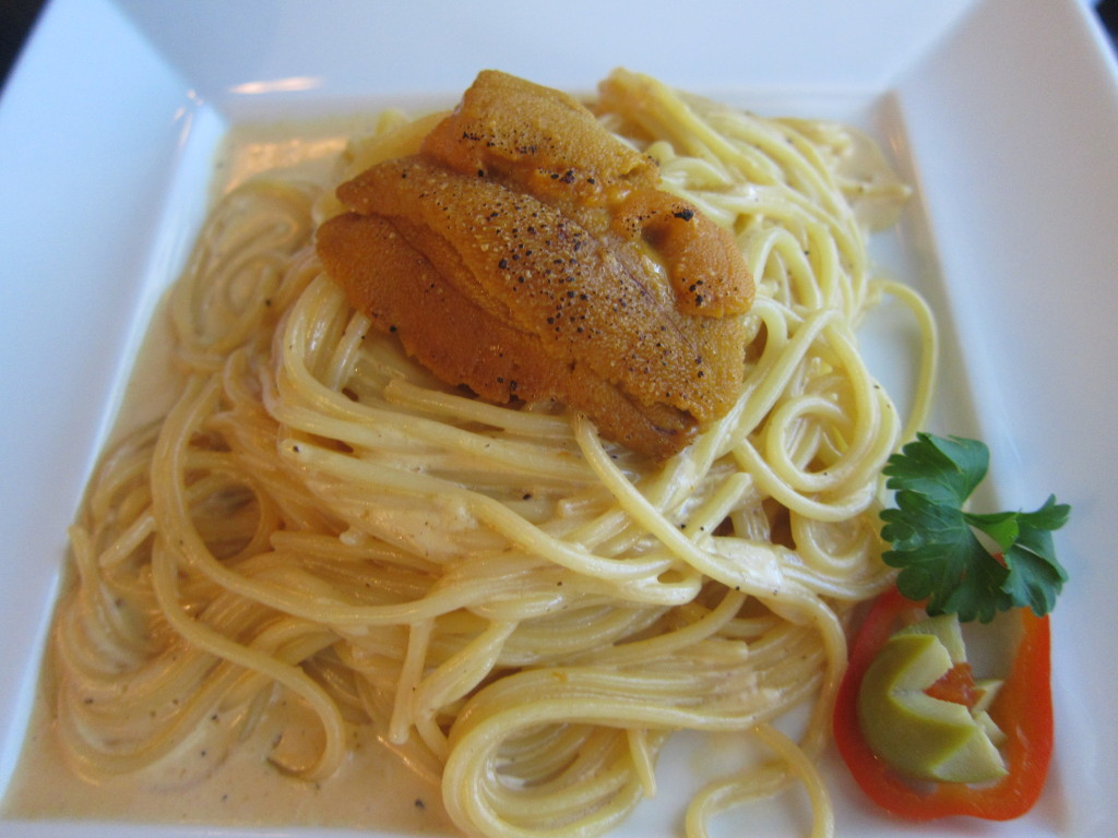 Sea Urchin Cream Pasta