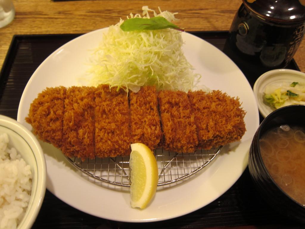 Tonkatsu at Tonkatsu Maisen Tokyu-Toyoko