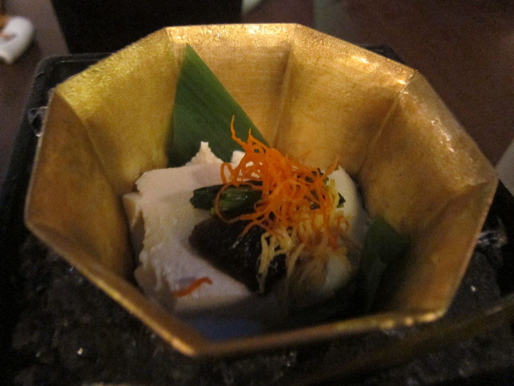 Tofu Kaiseki from Tosuiro Kiyamachi in Kyoto