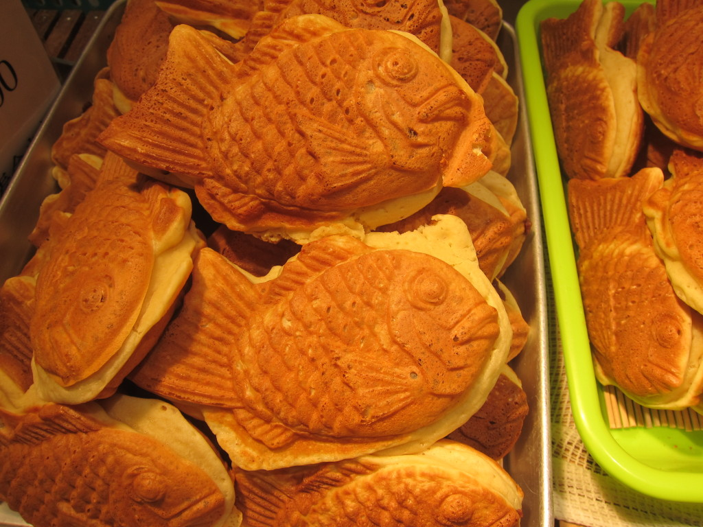 Taiyaki from a department store food hall in Kyoto