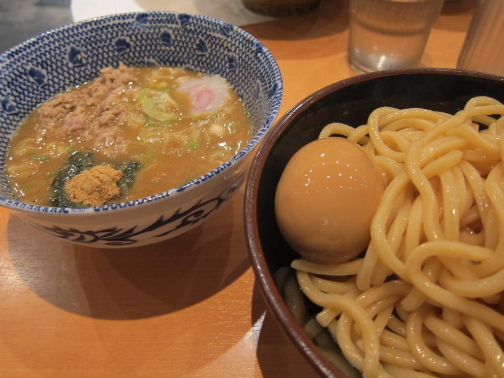 Tsukemen from Rokurinsha in Tokyo