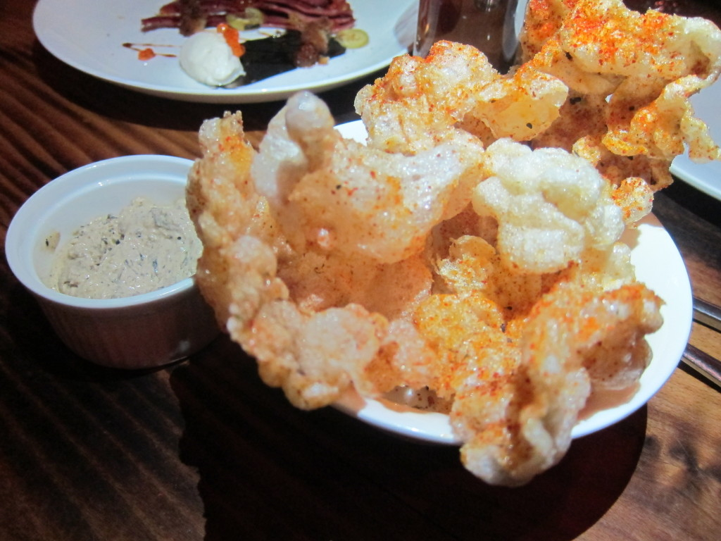 Spicy Beef Tendon Chip with Charred Onion Pho Dip