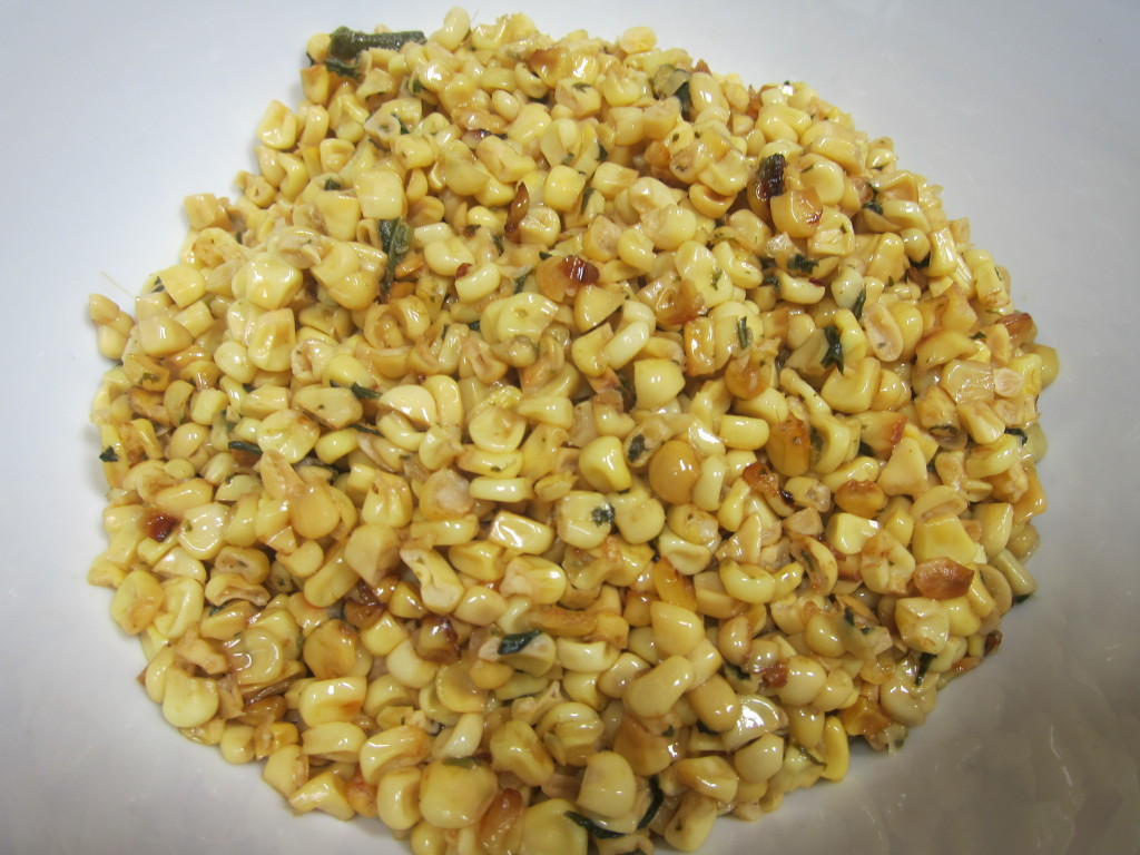 Esquites (Toasted Corn Off the Cob)