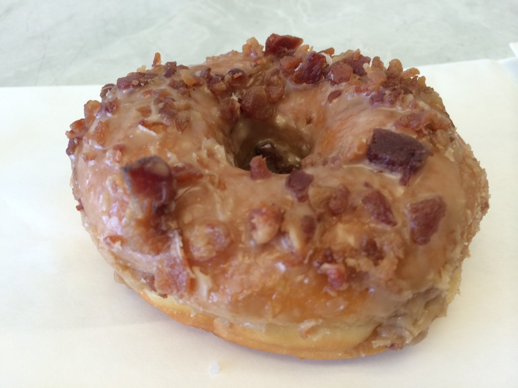 Maple Bacon Donut from Primo's Donuts