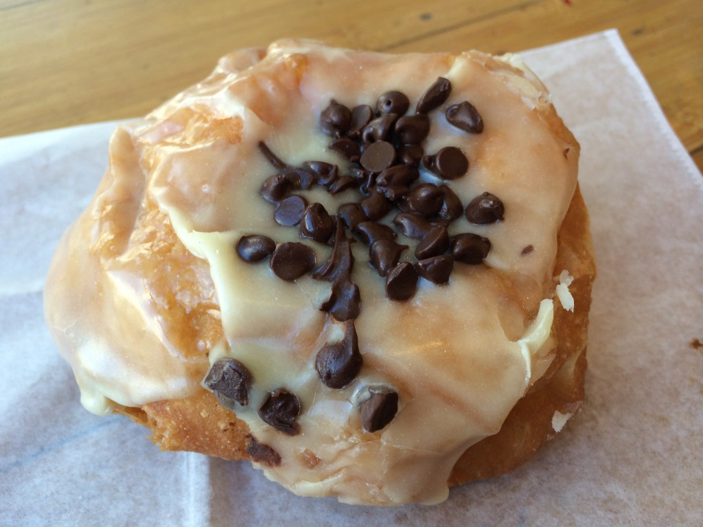 Peanut Butter, Banana and Chocolate Chip Donut from Stan's Donuts