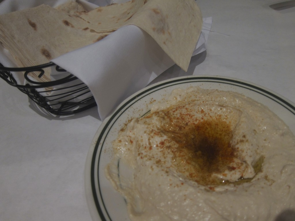 Flatbread and Hummus