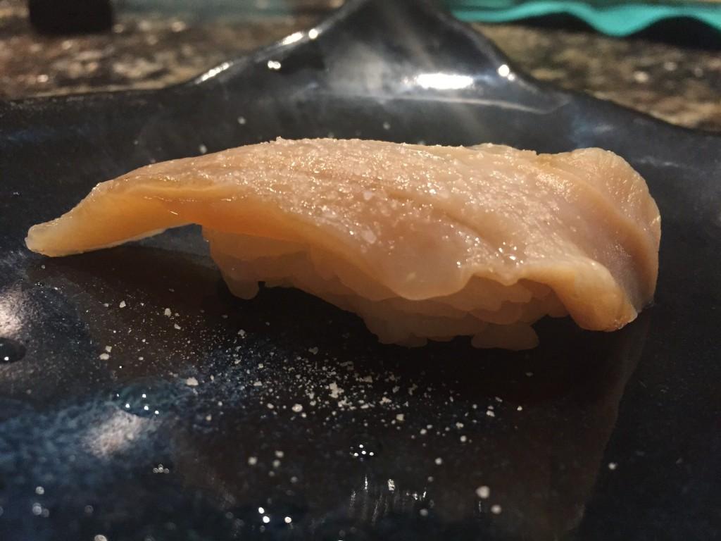 Giant Clam Sushi