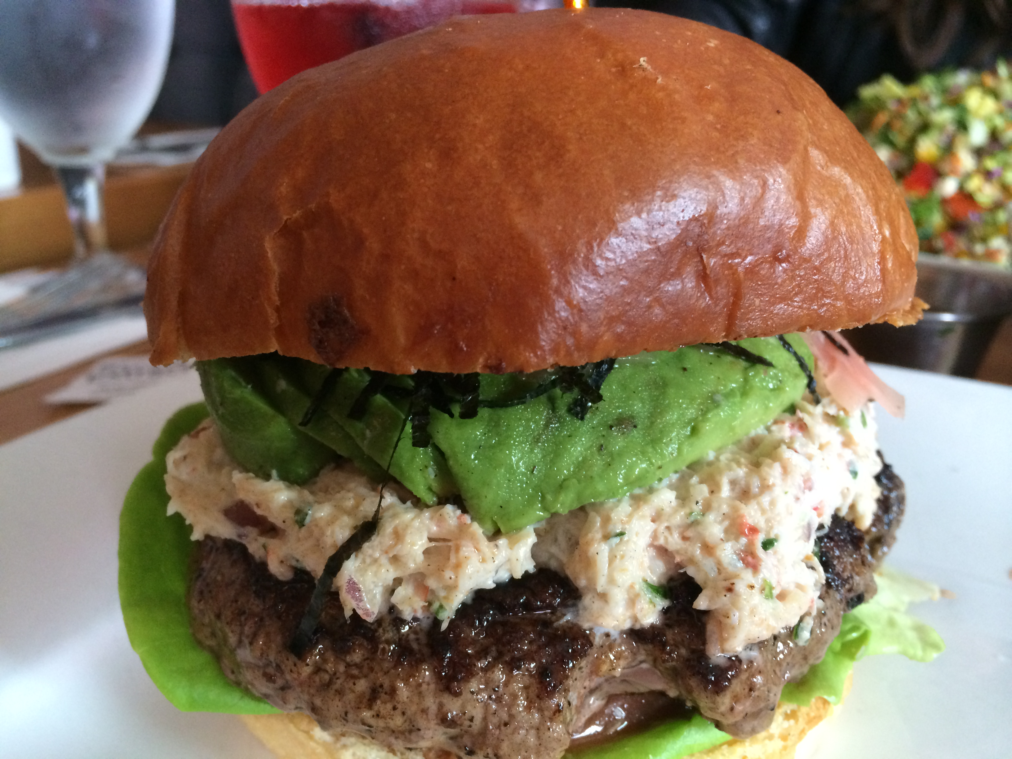 California Roll Burger Recipes — Dishmaps