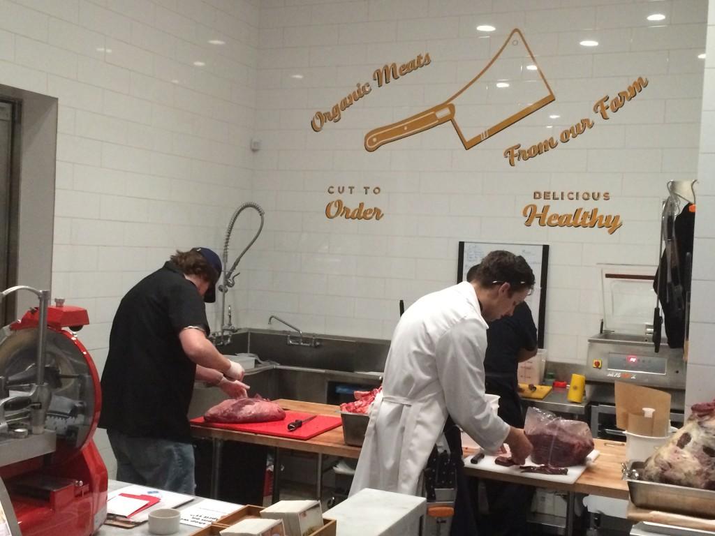 Butcher shop upfront