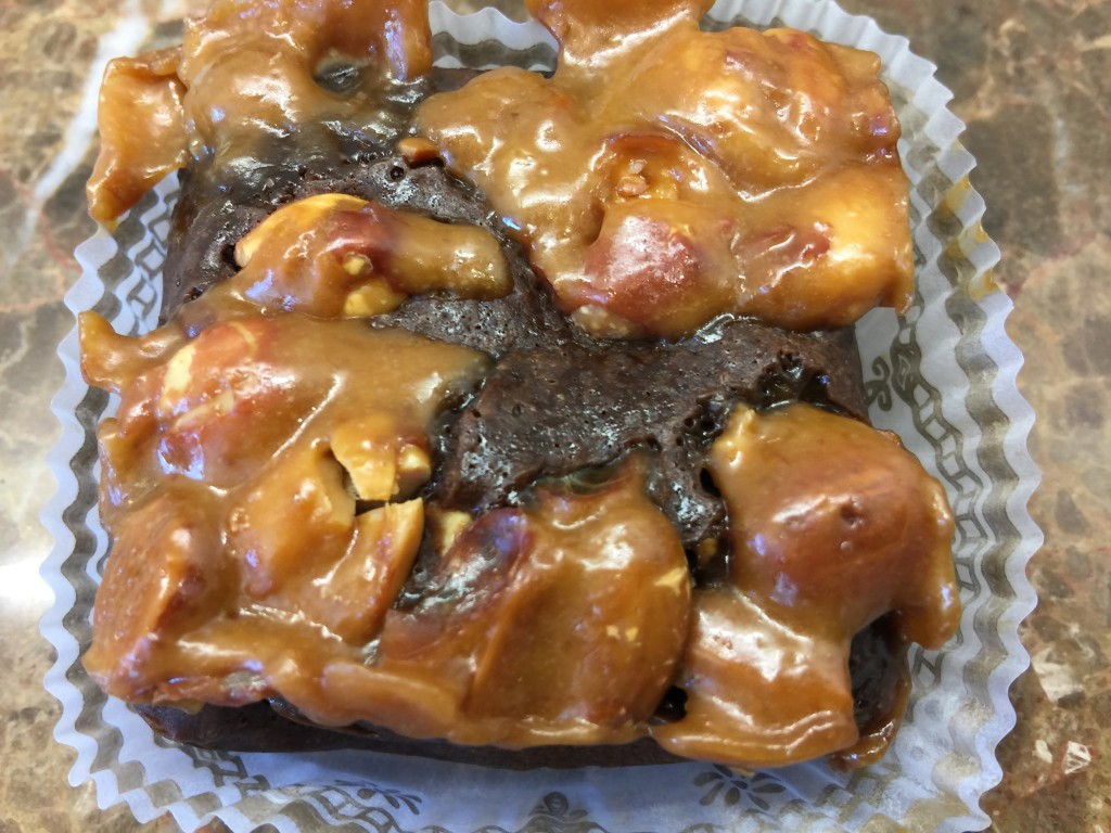 Peanut Brittle Brownie