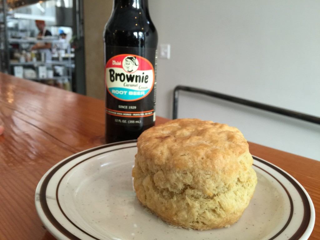 A Biscuit and a Brownie from Pine State Biscuits