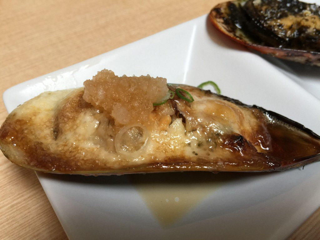 Mussel with Japanese Mayo