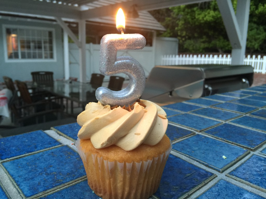 Five Year Blogiversary