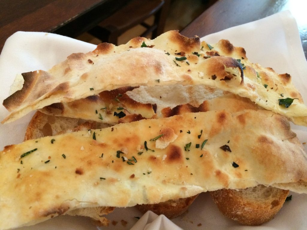 Cracker Bread at Angelini Osteria