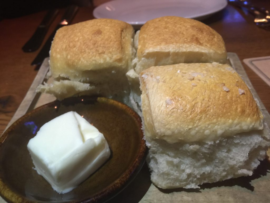 Sourdough and Cheese Rolls at The Water Grill