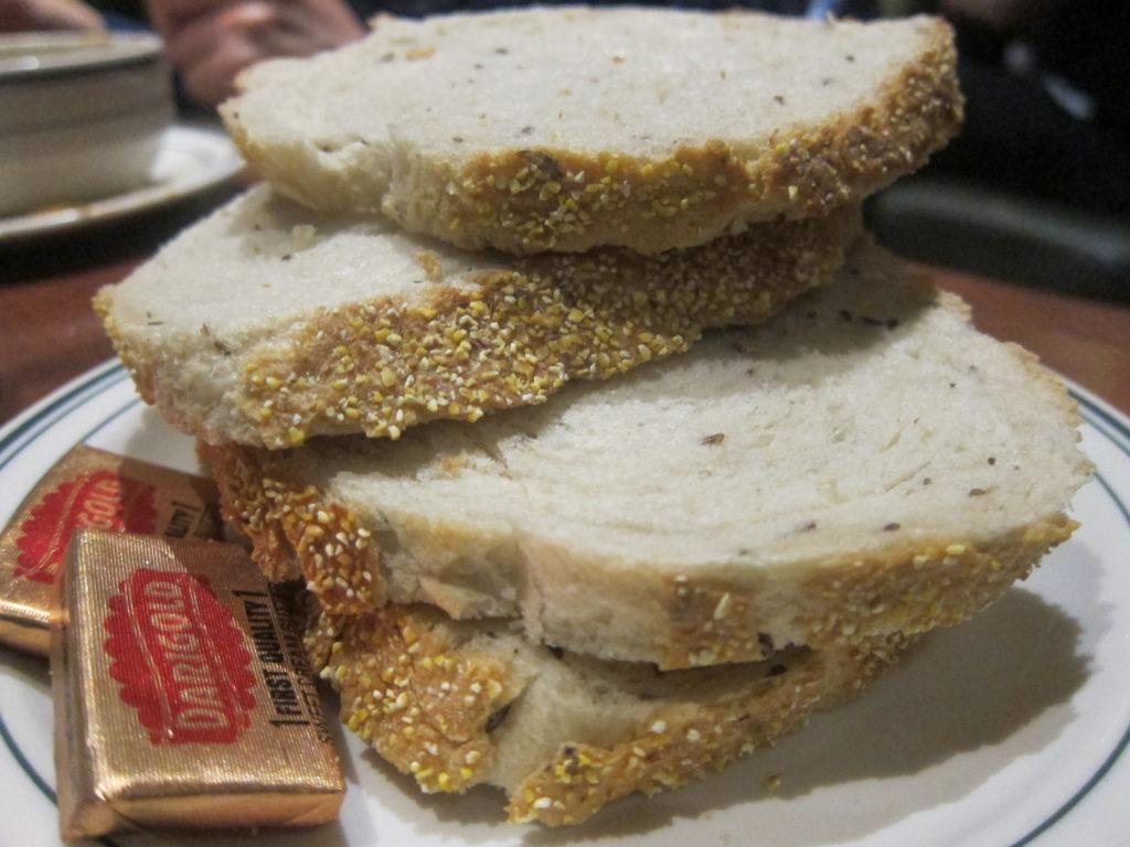 Rye Bread from Brent's Deli