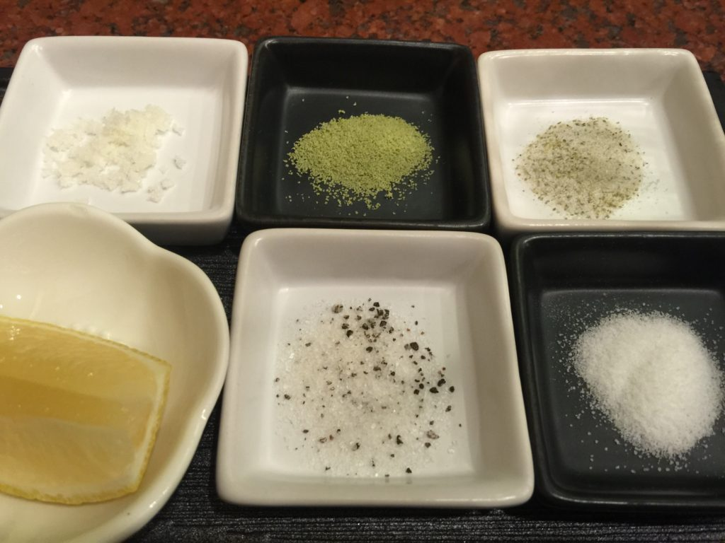Five kinds of salt!